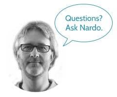 Questions? Ask Nardo.
